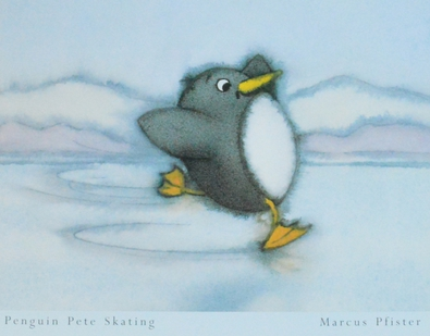 Marcus Pfister Penguin Pete skating