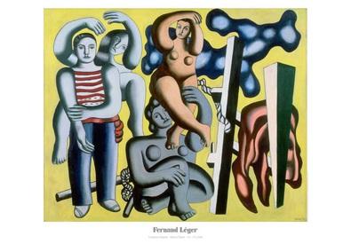 Fernand Leger Die Papageien (Die Akrobaten)