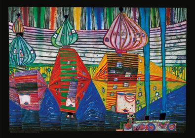 Friedensreich Hundertwasser Resurrection of Architecture