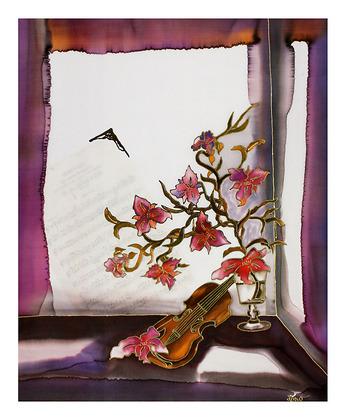 Annemarie Loew Stilleben mit Geige