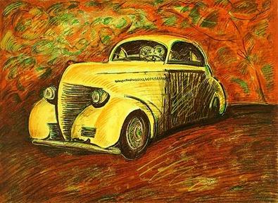 Rubens Gerchman Das Auto
