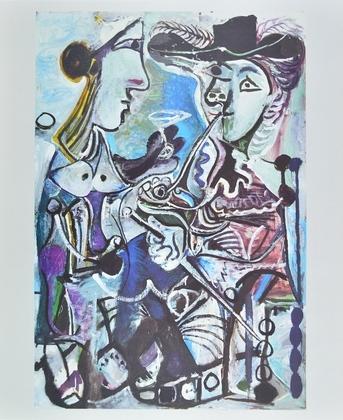 Pablo Picasso Das Paar (1967)