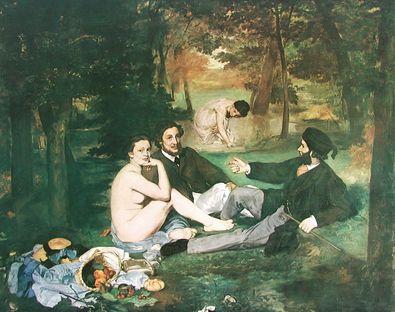 Edouard Manet Fruehstueck im Freien