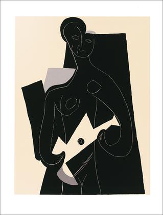 Pablo Picasso Femme a la guitare, 1924