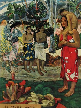 Paul Gauguin Ave Maria