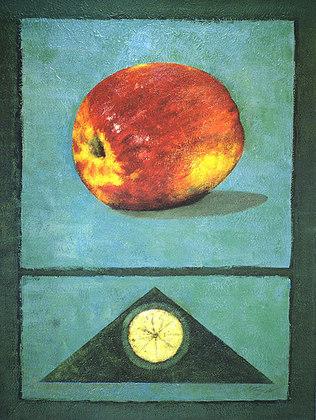 Rhanavardkar Madjid Apfel (handsigniert)
