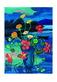 Muenter gabriele blumenstillleben vor landschaft um 1945 medium