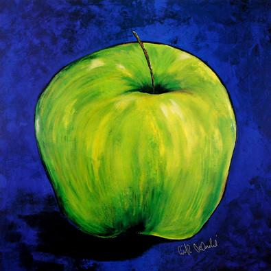 Erik de Andre 3er Set 'Apple in Blue' + 'Lemons in Blue' + 'Banana in Blue' (handsigniert)
