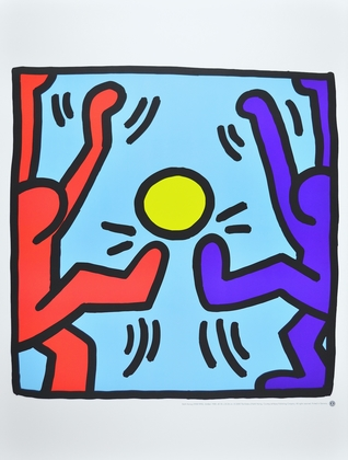 Keith Haring Playing People