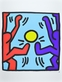Haring keith playing people medium