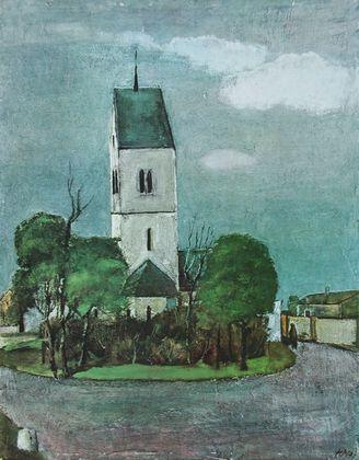 Heinz Mueller Alte Kirche