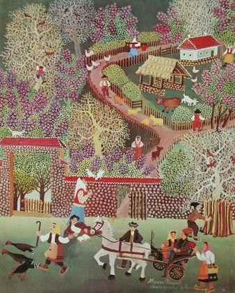 Milan Rasic Mein Dorf im Fruehling