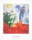 Marc Chagall Paerchen ueber St. Paul
