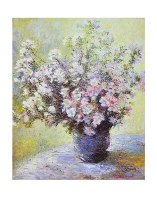 Claude Monet Blumenvase