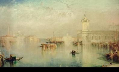 William Turner Die Dogana, San Giorgio und die Citella von den Stufen des Hotels Europa aus