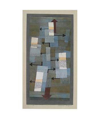 Paul Klee Schwankendes Gleichgewicht