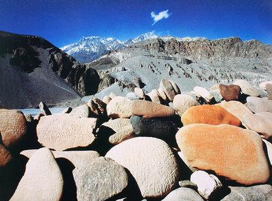 B. Luther Tibetische Steine (Tibet)