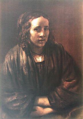 Rembrandt Hendrikje Stoffels