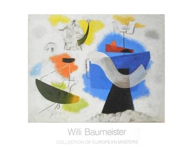 Willi Baumeister In farbigen Wolken