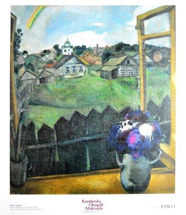Marc Chagall Veduta dalla finestra