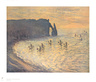 Monet claude klippen von etretat medium