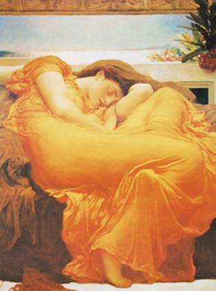 Lord Frederick Leighton Flaming June