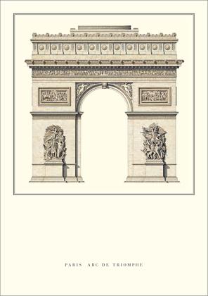 J.-F.-T. Chalgrin Paris, Arc de Triomphe
