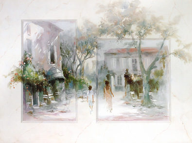 Willem Haenraets Taking a Stroll