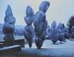 Christo wrapped trees medium