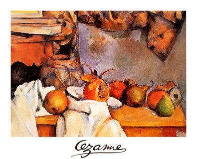 Paul Cezanne Obst, 1900 (gross)
