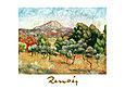 Pierre Auguste Renoir Il mont Sainte Victoire