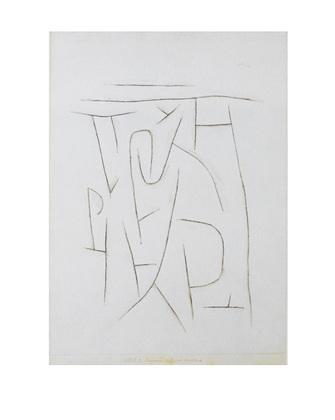 Paul Klee Fragmente der Gegend von Weiland