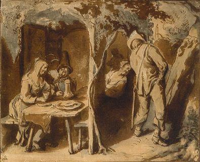 Jan Steen Unter der Laube