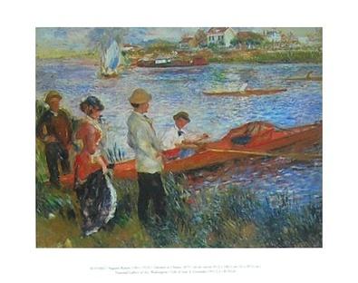 Pierre Auguste Renoir Oarsmen at Chatou