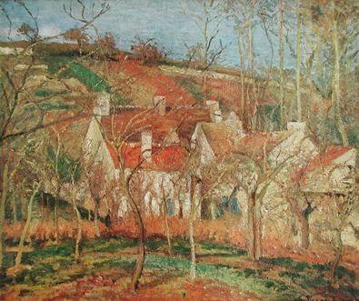 Camille Pissarro Die roten Daecher