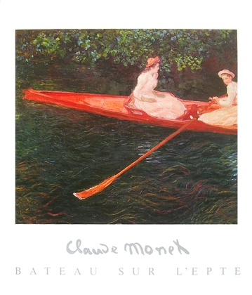 Claude Monet Bateau sur L epte