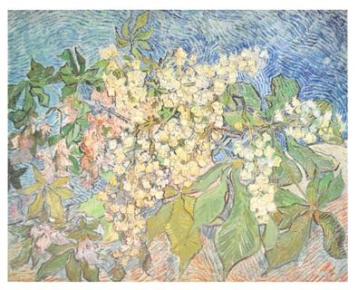 Vincent van Gogh Bluehender Kastanienzweig 1890