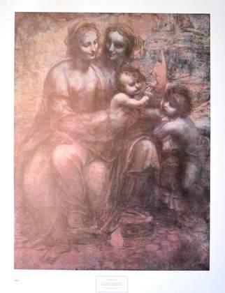 Leonardo Da Vinci Jungfrau mit Kind