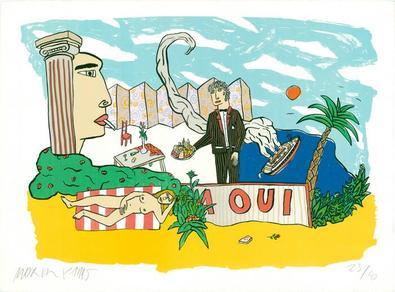 Moritz Goetze A Oui, 1995