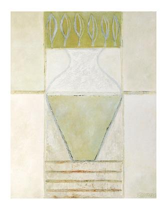 Juliane Sommer Big Vase and Leaves