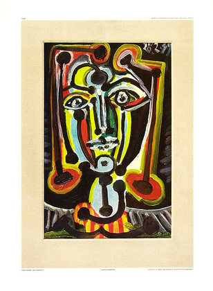Pablo Picasso Frauenkopf