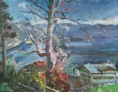 Lovis Corinth Baum am Walchensee