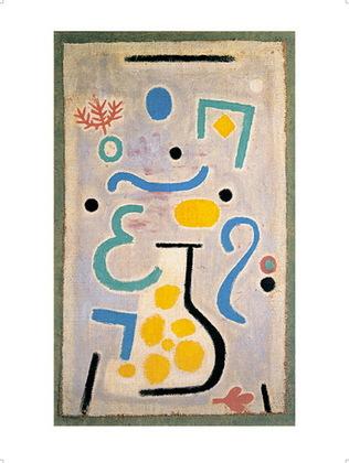 Paul Klee Die Vase, 1938, 122 (J2)