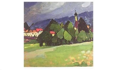 Alexej von Jawlensky Landschaft - Murnau