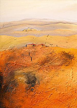 Bernhard Gerner Mediterrane Landschaft 2