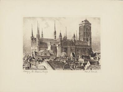 Bruck Danzig, St. Marienturm, rechts