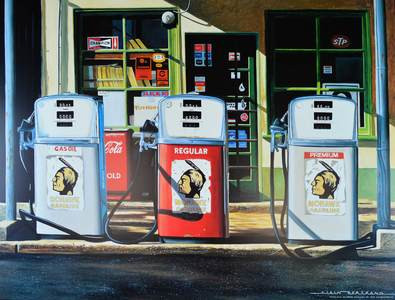 Alain Bertrand Mohawk gazoline