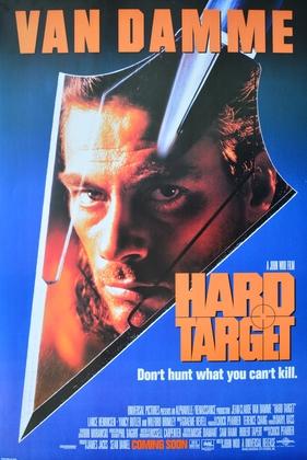 Kinoplakat Hard Target