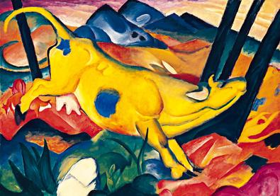 Franz Marc Die gelbe Kuh
