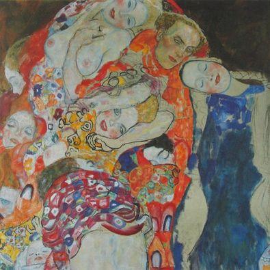 Gustav Klimt Die Braut (Detail)   1917 18